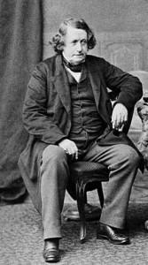 Hugh Falconer in his latter years