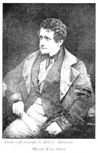 Hugh Falconer as a young man (1844)