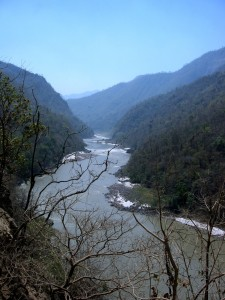 The River Ganga in the Sewalik Hills